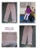 Jeans mit Cargotasche - Bild-Collage