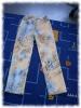 die Probe Jeans in gemustert