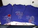 3 Shirts in blau mit Märchenmotiven