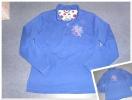 Kuschelpullover in Blau