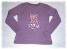 Langarm Shirt Hip Kitty