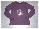 Langarm Shirt Horse and Feathers