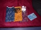Patchwork Stoffe und Taschenzubehör